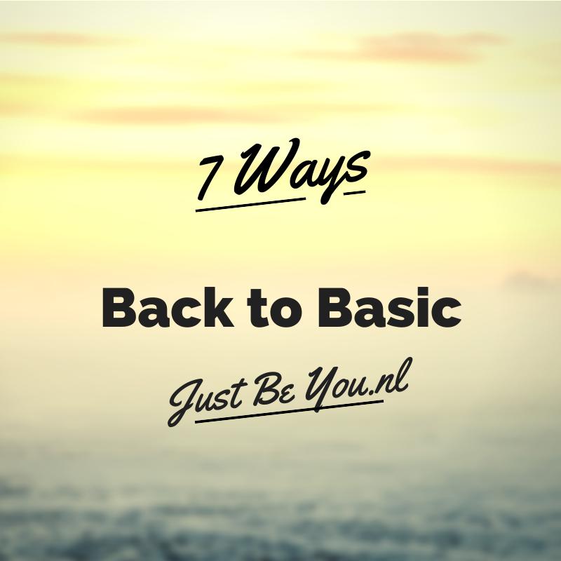 back to basic just be you. Black Bedroom Furniture Sets. Home Design Ideas