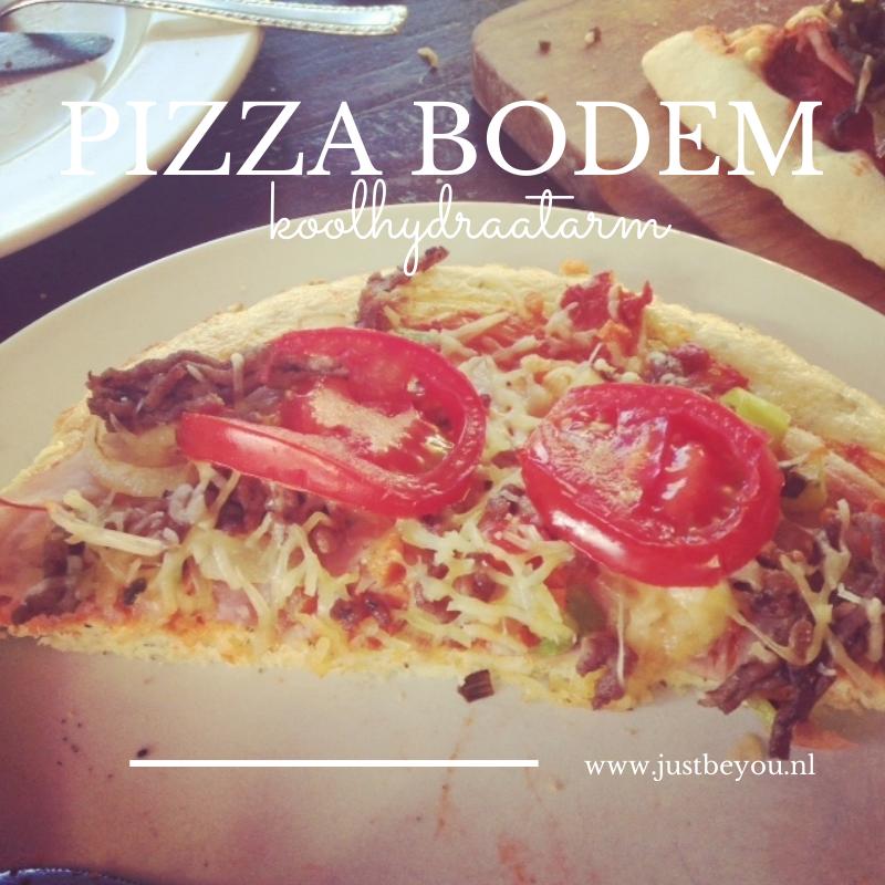 Pizza Bodem Koolhydraatarm Uit Grip Op Koolhydraten Just Be You