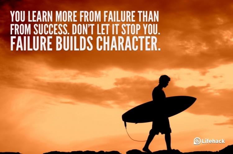 Ben je bang voor mislukking?