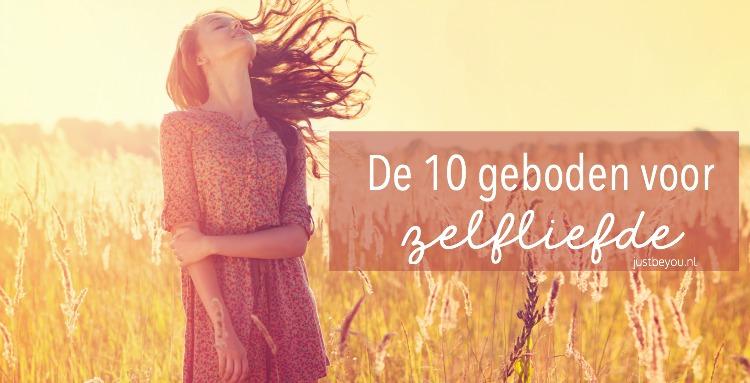 De 10 geboden voor Zelfliefde