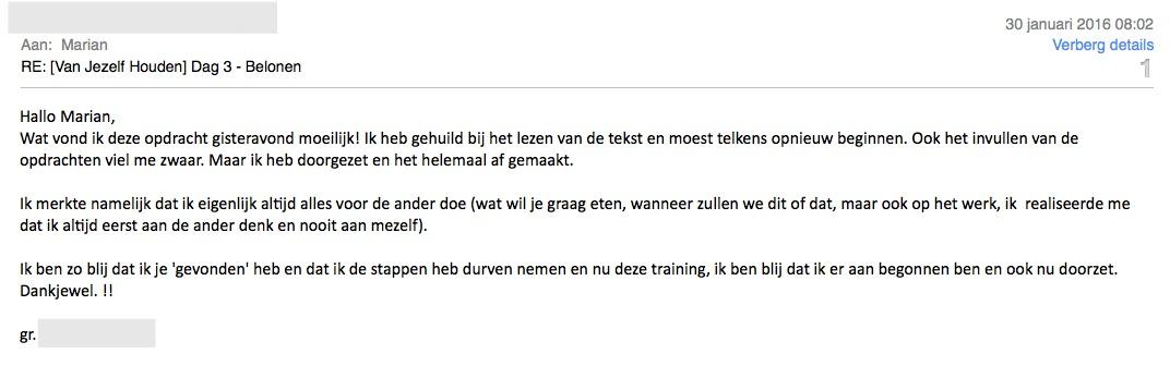 Review Van Jezelf Houden