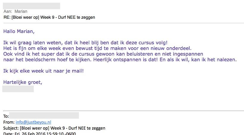 Review Bloei Weer op
