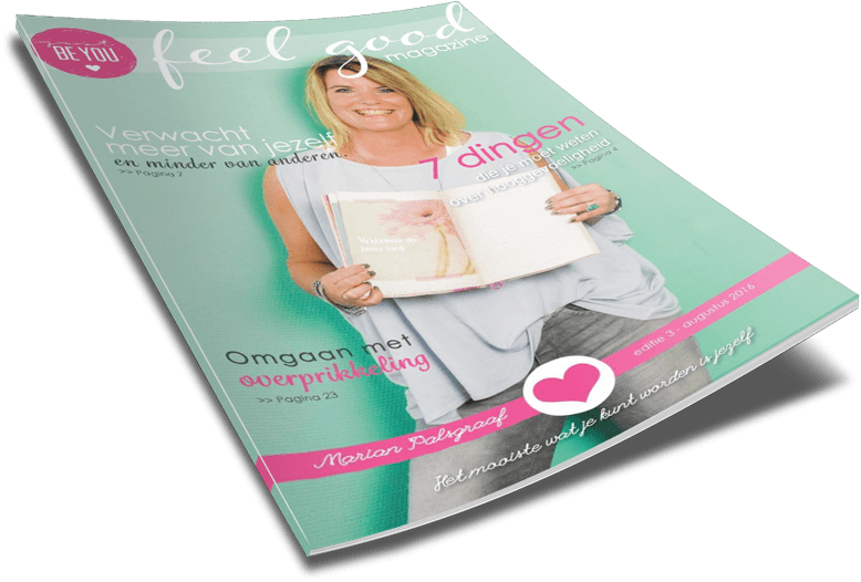 Just Be You Online Feelgood Magazine