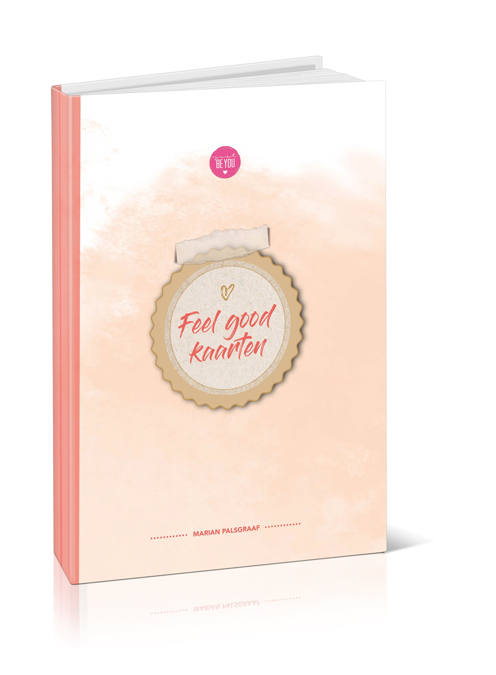 Feelgood Ansichtkaarten boek Just Be You