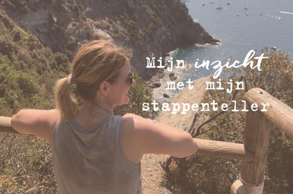 Mijn inzicht met mijn stappenteller - just be you