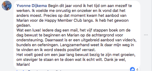 Review Happy Member Just Be You YD
