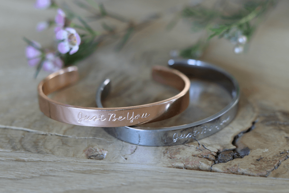 Just Be You Armband Zilver en Rosé