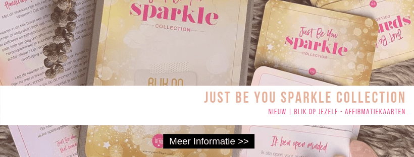 Just Be You Sparkle Collection - Affirmatie kaarten