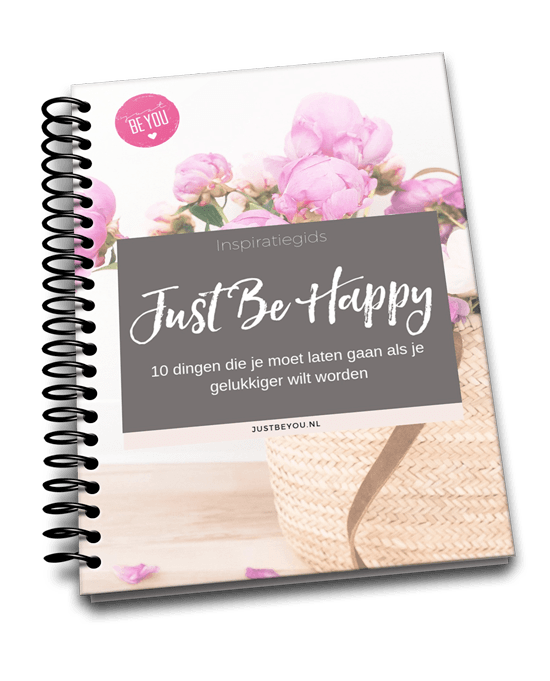 ebook cover Just Be Happy