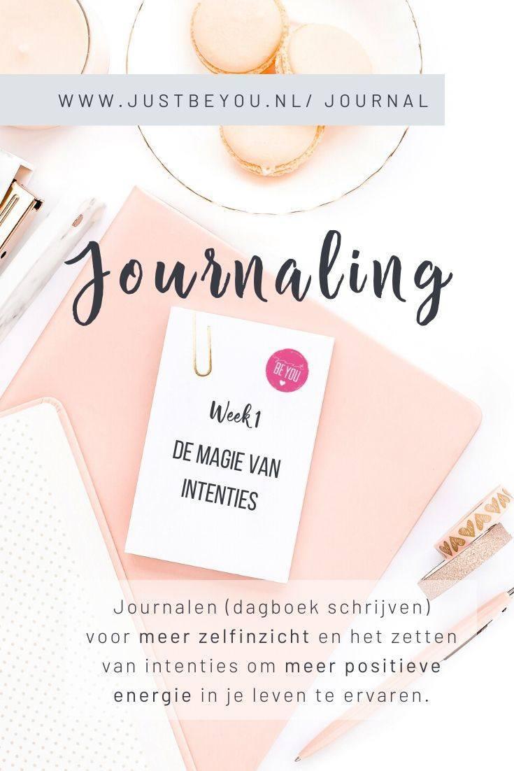 Journaling Dagboek schrijven JBY
