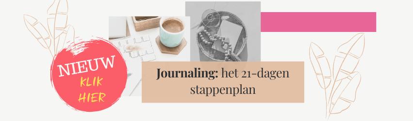 Journaling, het 21 dagen stappen plan