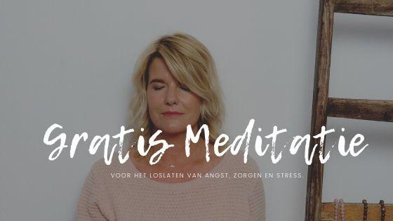 Gratis Meditatie voor het loslaten van angst, zorgen en stress