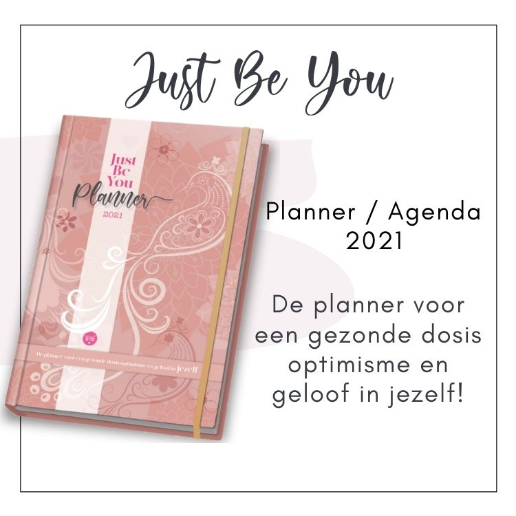 Just Be You Planner Agenda 2021