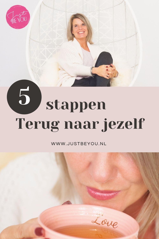 In 5 stappen terug naar jezelf