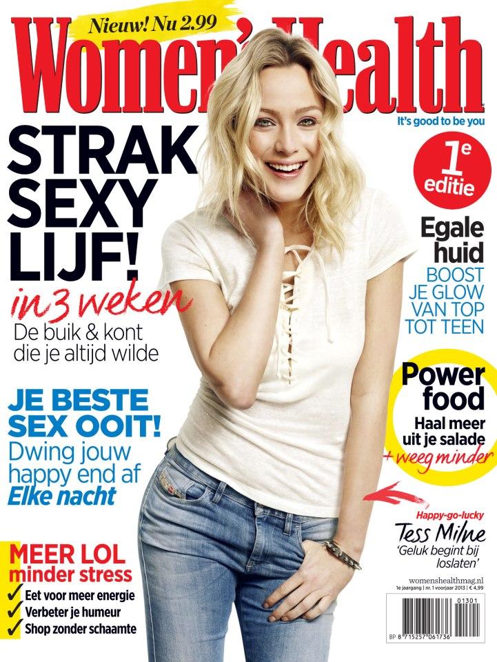 Afbeeldingsresultaat voor women's health magazine nederland cover