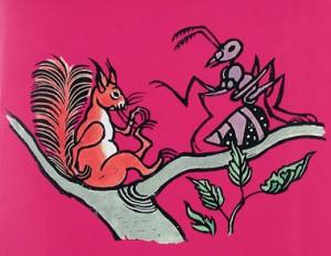 De eekhoorn en de mier
