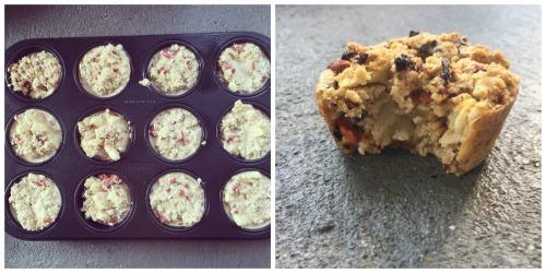 Geluksmomenten havermout muffins