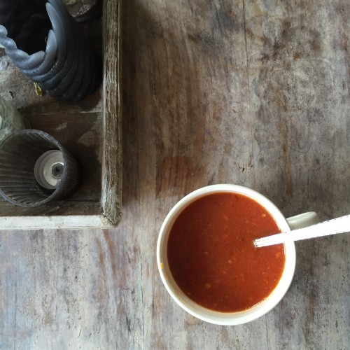 geluksmomenten verse tomatensoep
