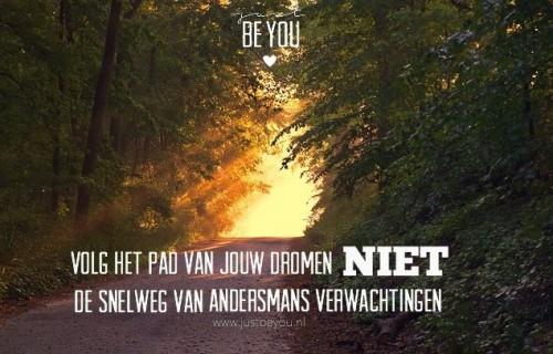 geluksmomenten Facebook Just Be You
