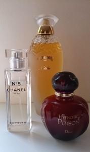 Parfums voor de winter
