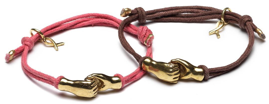Pink Ribbon armband 2014