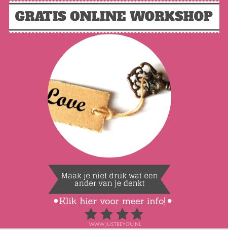 Gratis online workshop Maak je niet druk wat een ander van je denkt