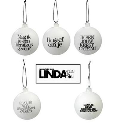 Steun arme kinderen een onbezorgde kerst met de Linda Kerstbal 3