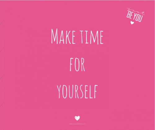 Vergeet jij wel eens tijd te maken voor jezelf?