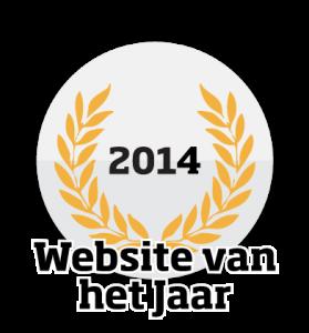 Website van het Jaar logo