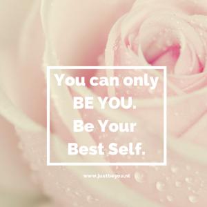 jezelf zijn