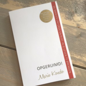 Opgeruimd marie kondo review just be you for Boek opgeruimd