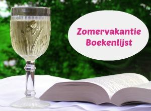 zomervakantie boekenlijst